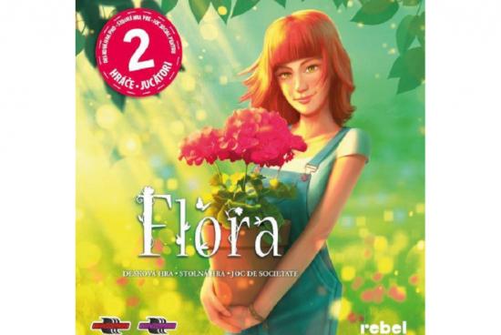 Flora je nová hra s květinami pro dva hráče