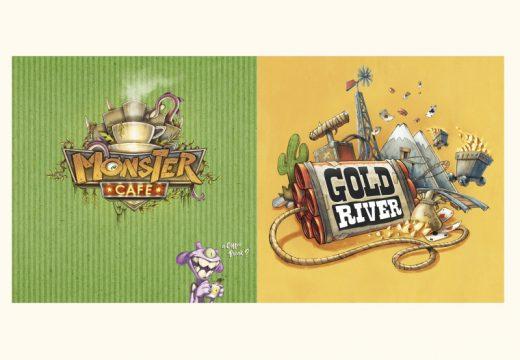 V květnu vyjdou rodinné hry Kavárna příšer a Zlatá řeka