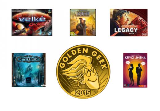 Jaké hry získaly cenu Golden Geek 2015