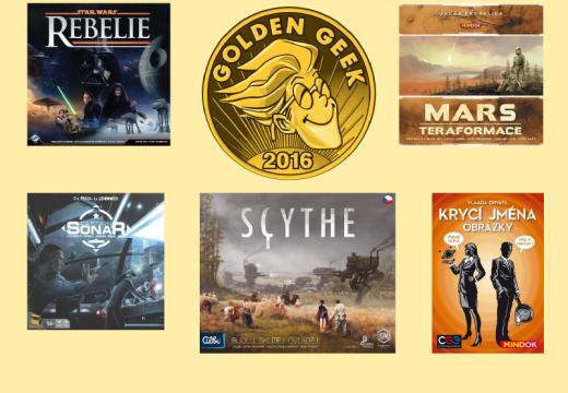 Jaké hry získaly ceny Golden Geek 2016