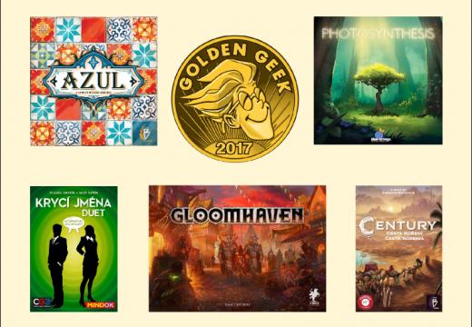 Jaké hry získaly ceny Golden Geek 2017