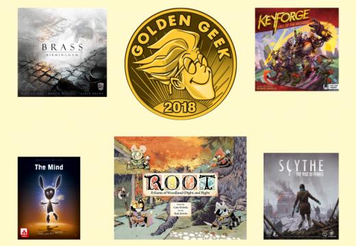 Jaké hry získaly ceny Golden Geek 2018