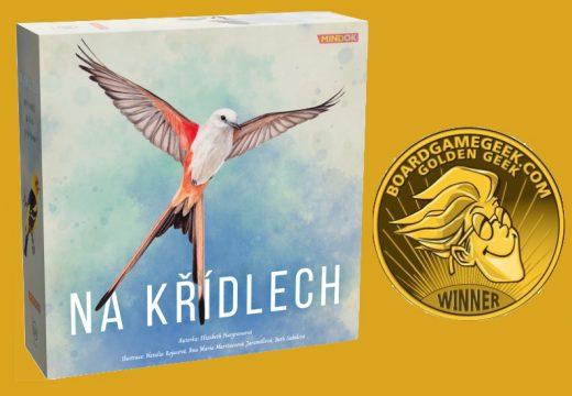 Absolutním vítězem ceny Golden Geek 2019 je Na křídlech