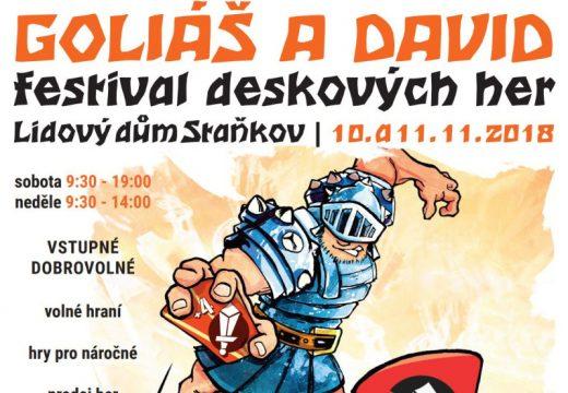 Pozvánka: O víkendu vás přivítá Goliáš a David
