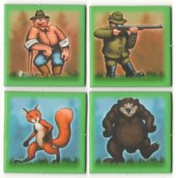 Halali-kartičky-zvířátka-lovci