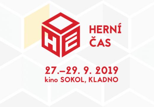 Pozvánka: O víkendu 27.–29. září vyrazte do Kladna na Herní čas