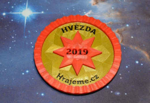 Hvězdu Hrajeme.cz 2019 udělíme 11. května na veletrhu Svět knihy v Praze. Přijďte
