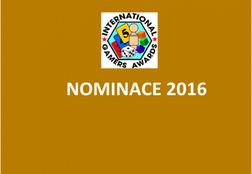 Jaké jsou nominace na cenu IGA 2016