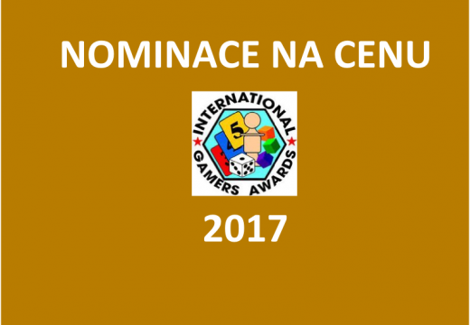 Jaké jsou nominace na cenu International Gamers Awards 2017