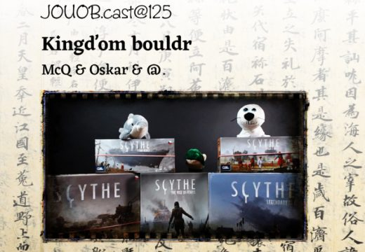 JOUOB.cast@125: Kingďom bouldr