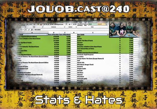 JOUOB.cast@240: STATS & HATES