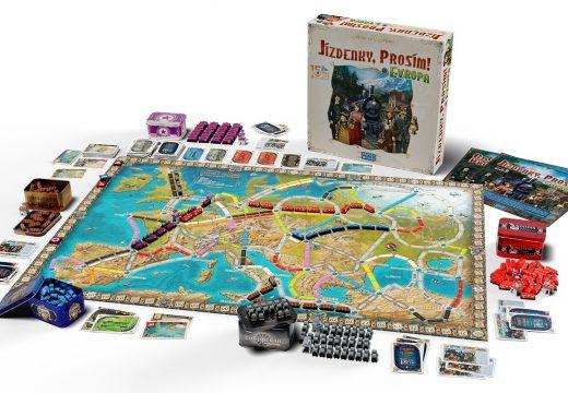 Rodinná hra Jízdenky, prosím! Evropa vyjde ve výroční edici