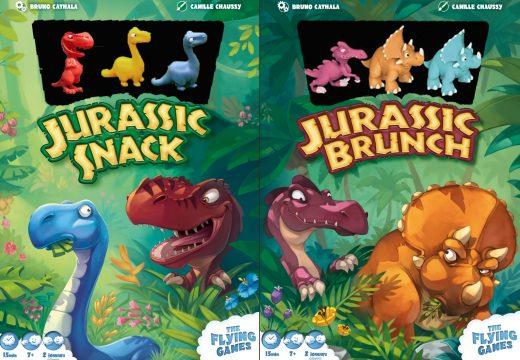 MindOK chystá dvě nové hry s dinosaury pro dva hráče