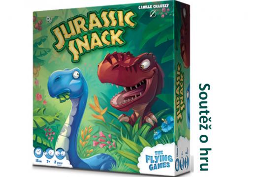 Soutěž o hru Jurassic Snack