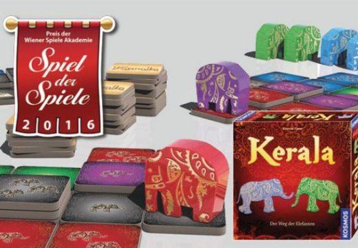 Cenu Spiel der Spiele 2016 v Rakousku získala Kerala