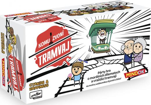 Komu zvoní tramvaj bude hra o morálních dilematech