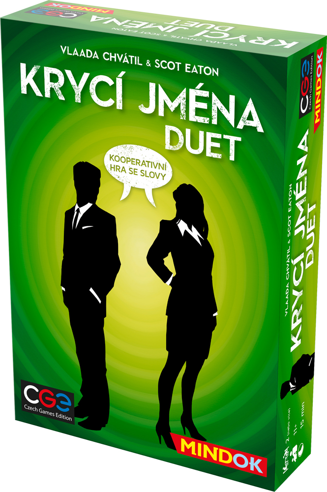 Krycí jména  Duet. – kooperativní asociační hra ... 6b157434bd