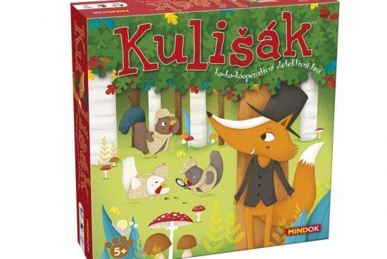 Kulišák je kooperativní detektivní hra pro děti