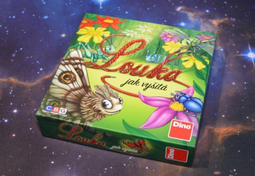 Louka jak vyšitá je unikátní česká hra s tkaničkami