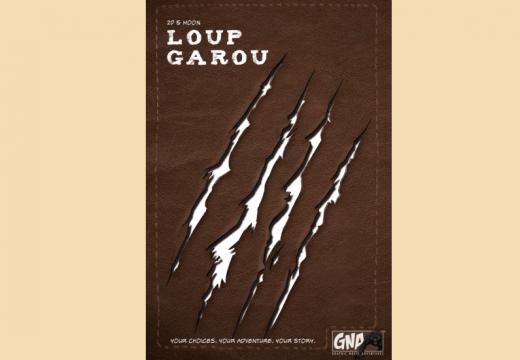 Komiksový gamebook Loup Garou bude pro dospělejší hráče