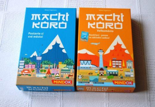 Postavte si své město ve hře Machi Koro
