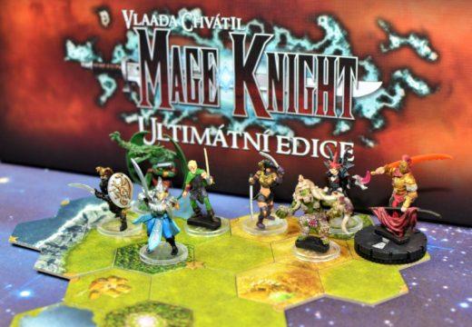 Ultimátní edice deskové hry Mage Knight je jedinečný počin