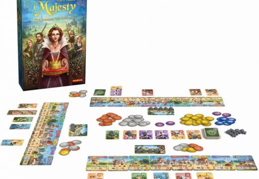 Soutěž o rodinnou hru Majesty: Má koruna, mé království