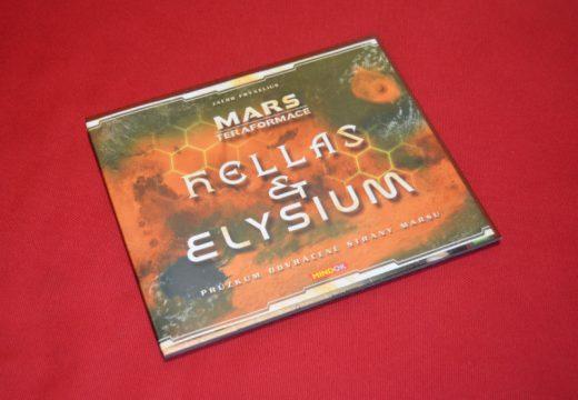 S rozšířením Hellas a Elysium objevíte nová území Marsu
