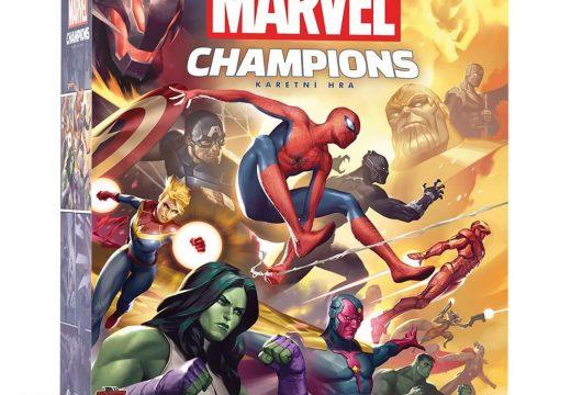 Hrdinové karetní hry Marvel Champions přichází