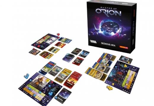Soutěž o hru Master of Orion: Desková hra