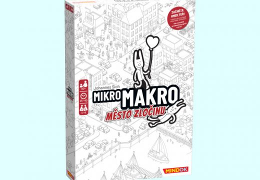 Unikátní detektivní hra MikroMakro již dorazila do obchodů