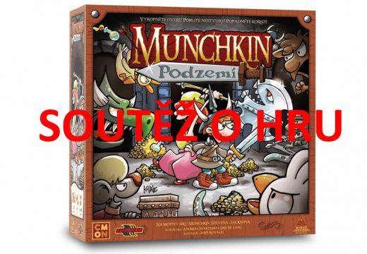 Soutěž o deskovou hru Munchkin: Podzemí