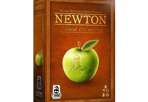 Strategická hra Newton a Velké objevy u nás vyjde na podzim