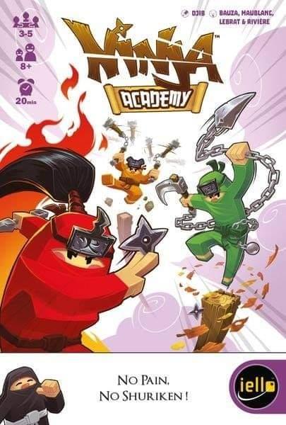 Ninja Academy je rodinná hra, kterou přinesou REXhry