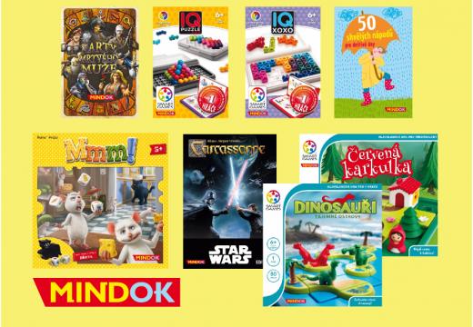MindOK ohlásil další rodinné hry a Smart Games – 3. část