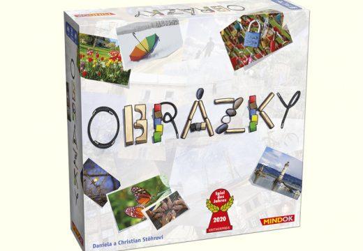Vyzkoušejte oceněnou rodinnou hru Obrázky