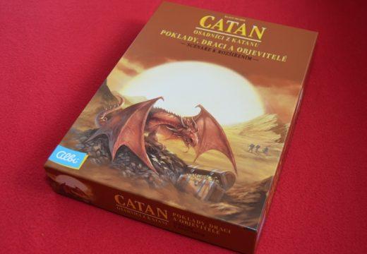 Poklady, draci a objevitelé přináší na Katan nová dobrodružství