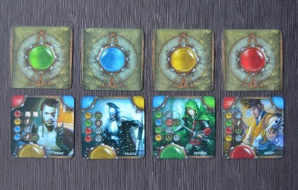 Panovník-dražba-karet