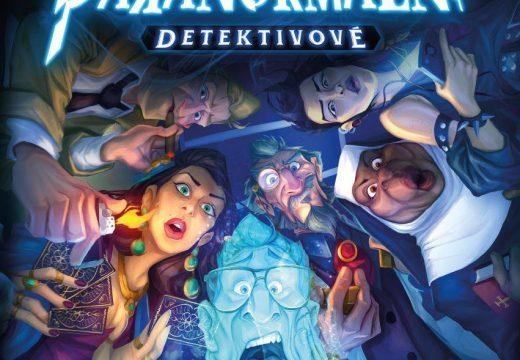 Dedukční hra Paranormální detektivové právě dorazila