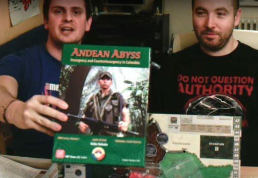 Planeta her představuje válečnou hru Andean Abyss