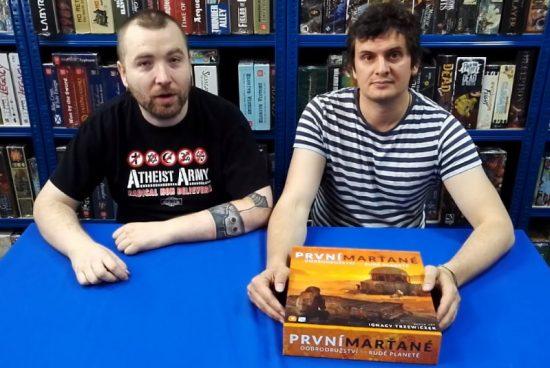 Planeta her představuje kooperativní hru První Marťané