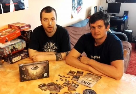 Planeta her představuje karetní hru RONE