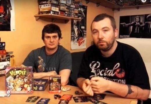 Planeta her představuje karetní hru VúDú