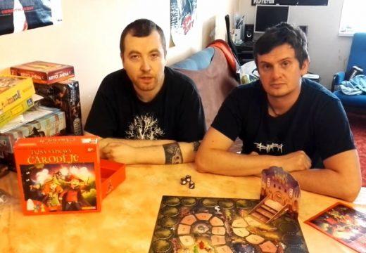 Planeta her představuje dětskou hru Tajná výprava čarodějů