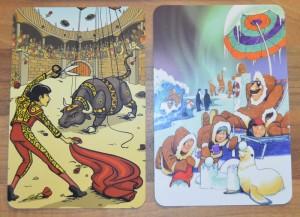 Ukázka karet hry Poslední slovo.