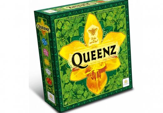 TLAMA games již má rodinnou hru Queenz