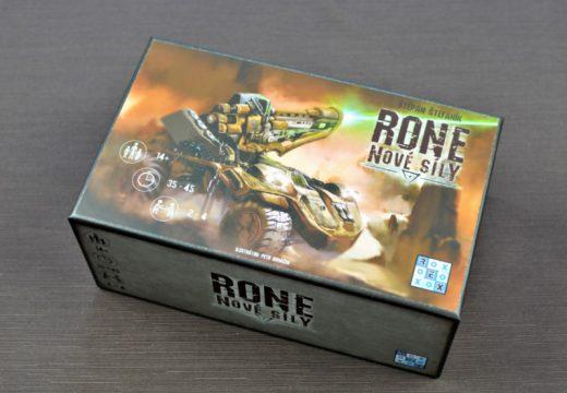 Nové síly přináší do karetní hry RONE iniciativu a pomalý efekt