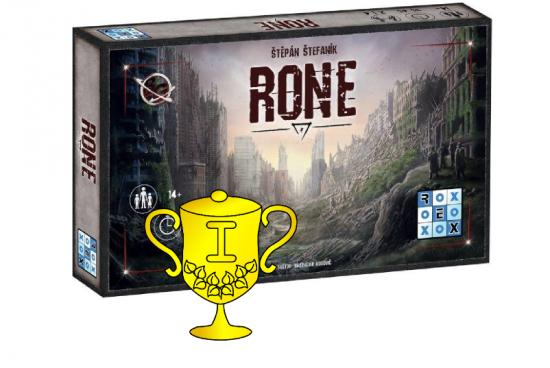 Vítěz v soutěži o karetní hru RONE