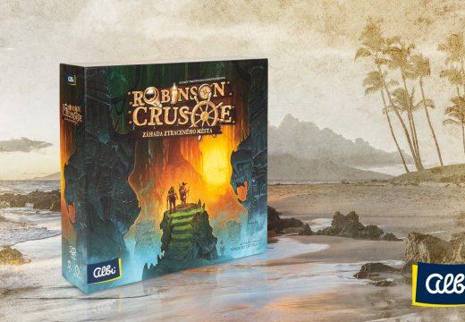 Robinson Crusoe přichází v kampaňovém rozšíření