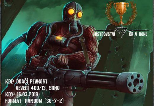 V březnu se uskuteční první mistrovství ČR v RONE
